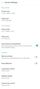 Camera for S9 Premium